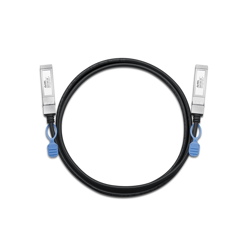 ZyXel DAC10G-1M, 10G direct attach cable. 1 Meter