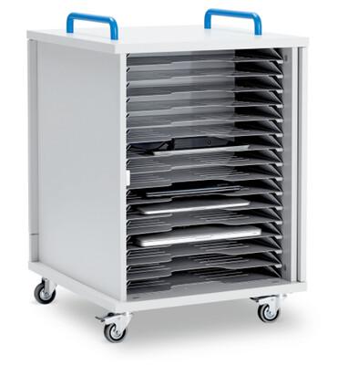 Lyte Single Door 16 Metal Shelf Mobile