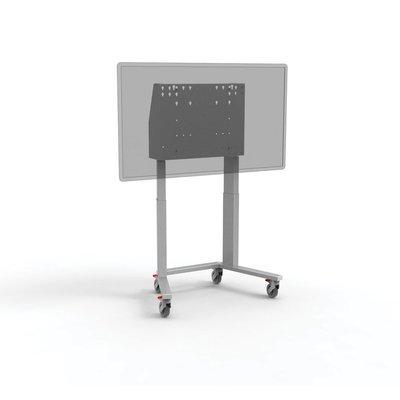 Dubbelzuils mobiele lift economy aluminium - grijs