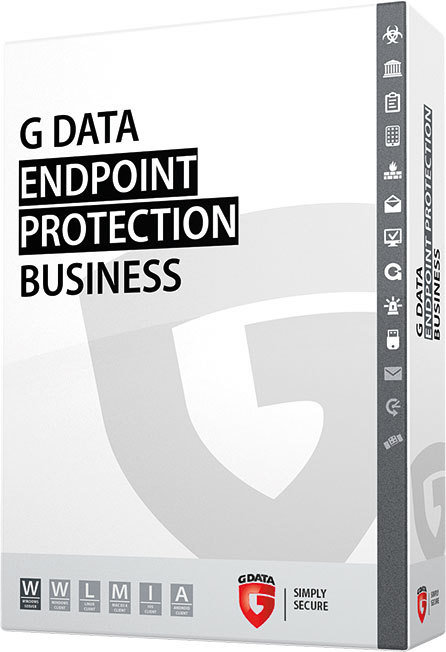 G DATA ENDPOINT PROTECTION BUSINESS;  Network license per location users;  3 YEAR