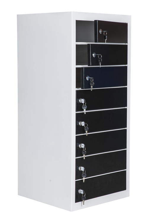 Safelock Laptop Locker , voor 8 Laptops of Tablets