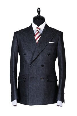 El Camino Black Denim Suit
