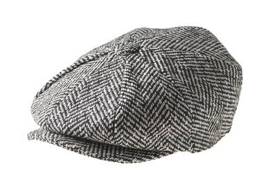 Newsboy cap grey