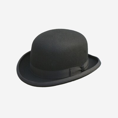 Black Denton Bowler Hat