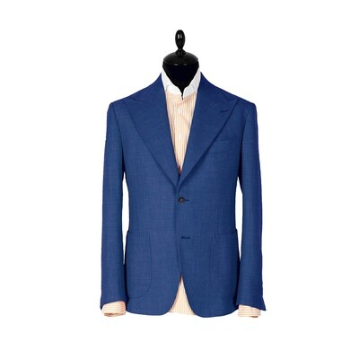Blue single breasted suit. Havana collection