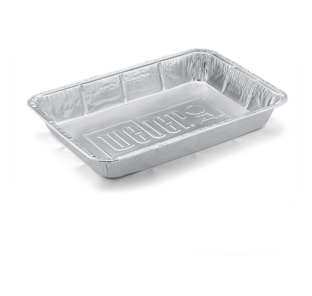 Weber-Large Drip Pans, 10 pk, 2