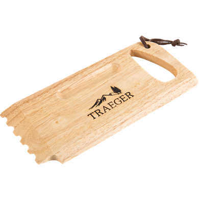 Traeger- Wooden Grill Grate Scrape
