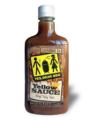 Yes Dear BBQ Yellow Sauce