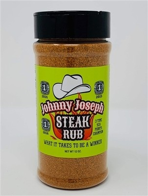 Johnny Joseph Steak Rub, 12oz