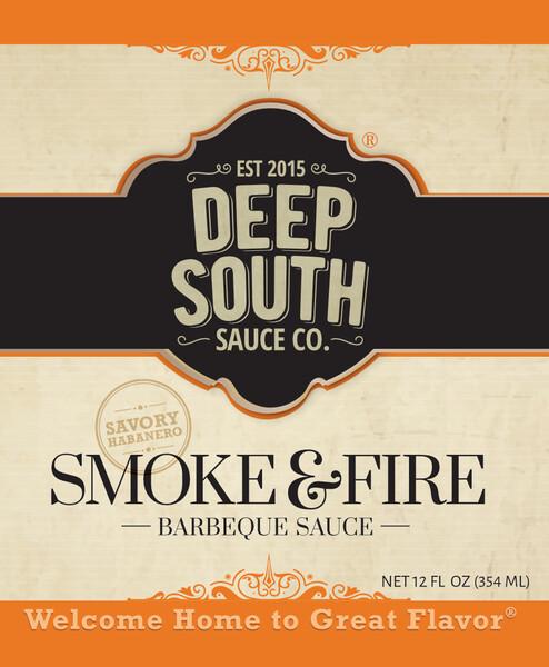 Deep South- Smoke & Fire BBQ Sauce
