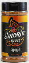 Smokin Hoggz Rib Rub 12 oz.
