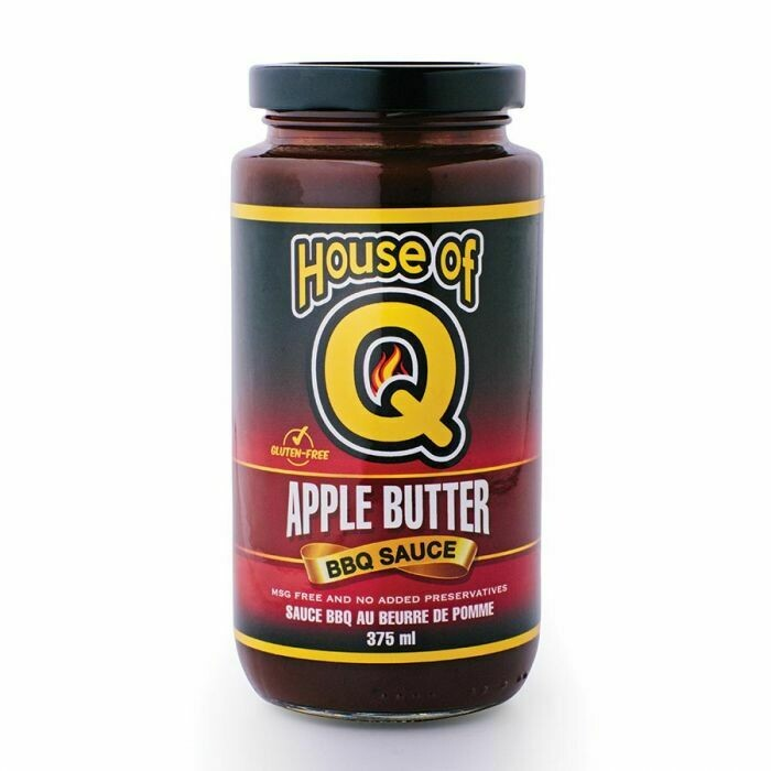 House of Q- Apple Butter BBQ Sauce