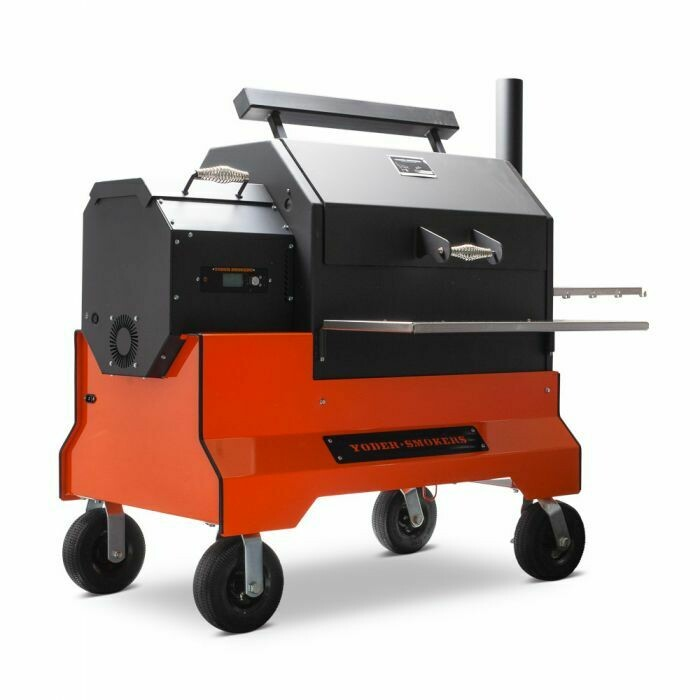 Yoder Smokers YS640s Pellet Grill Competition Cart