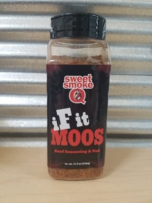Sweet Smoke Q-If It Moos-14oz