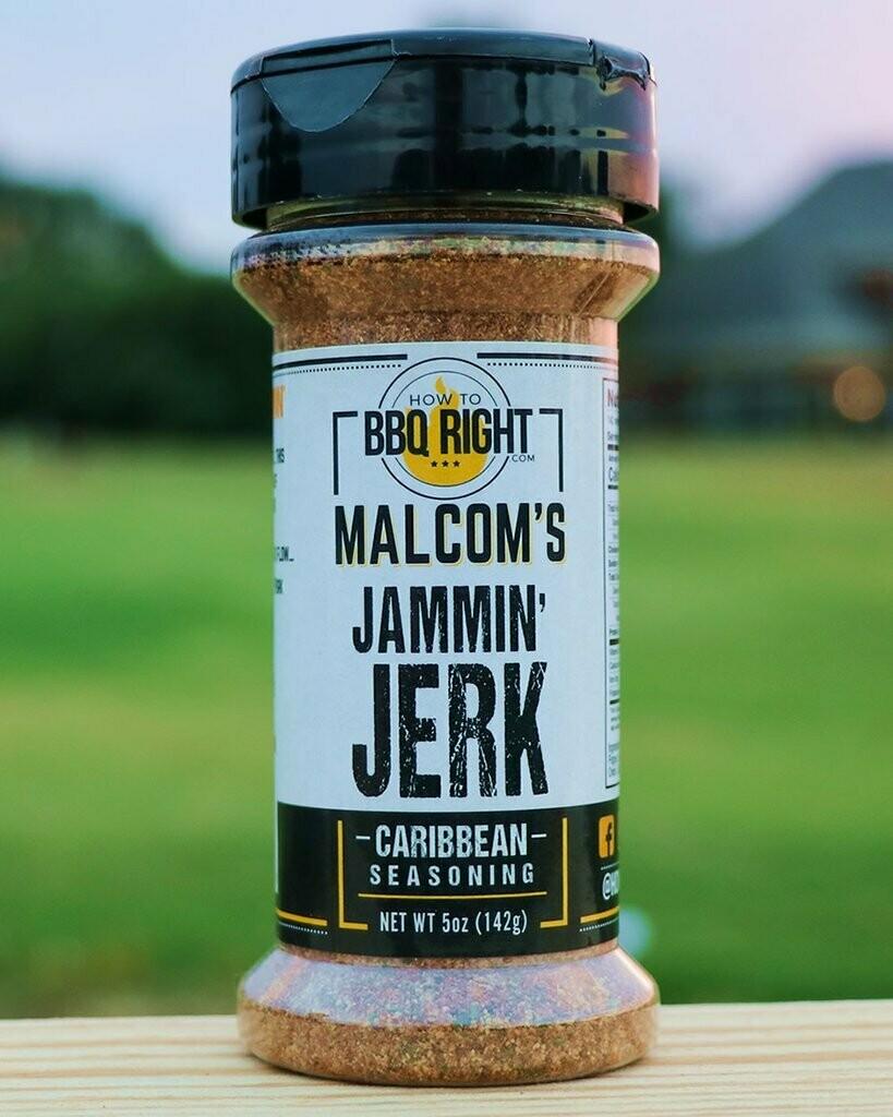 Malcom's Jammin' Jerk-5oz
