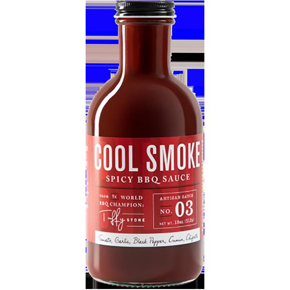 Cool Smoke Spicy BBQ Sauce- 18oz