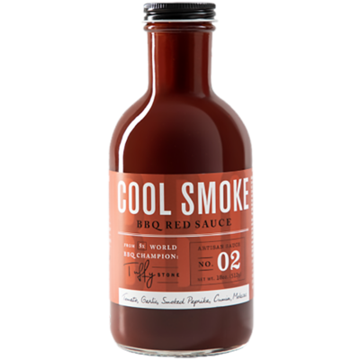 Cool Smoke BBQ Red Sauce- 18oz