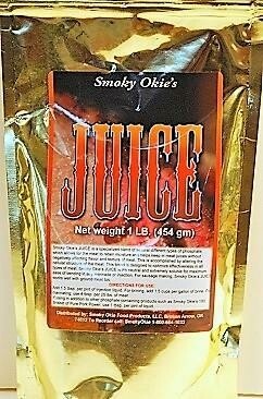 Smoky Okie's JUICE, 1 Lb. bag