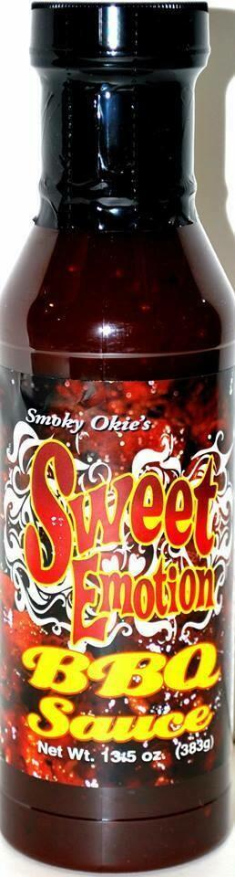 Smoky Okie's Sweet Emotion, 13.5 ounce bottle