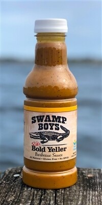 Swamp Boys- Bold Yeller BBQ Sauce 19oz