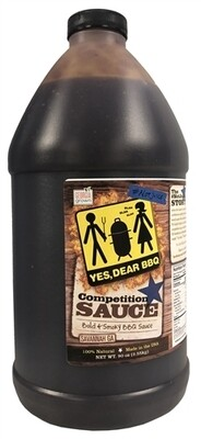 Yes Dear BBQ- Competition Sauce Half Gallon