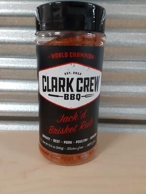 Clark Crew BBQ- Jack'd Brisket Rub