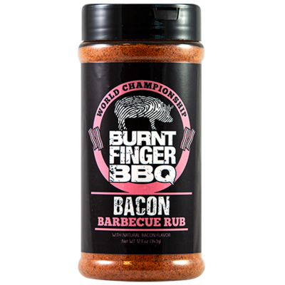 Burnt Finger BBQ- Bacon Barbecue Rub