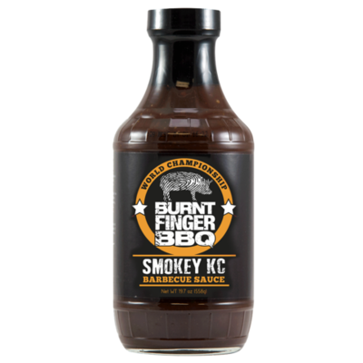 Burnt Finger BBQ- Smokey KC Barbecue Sauce