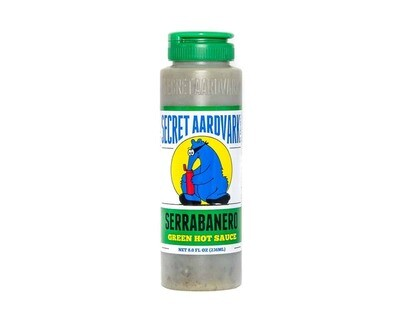 Secret Aardvark- Serrabanero Green Hot Sauce