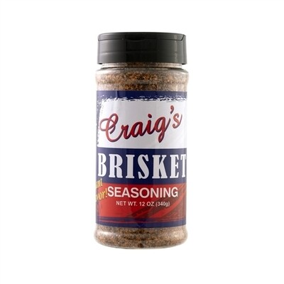 Craig's Brisket Seasoning, 12oz