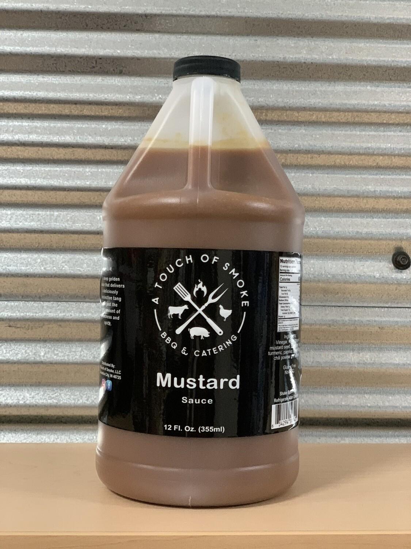 A Touch Of Smoke Mustard Sauce 1/2 Gallon