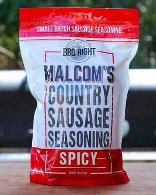Malcom Country Sausage Seasoning Spicy