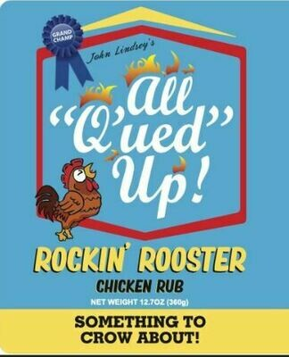 All Qued Up Rockin Rooster