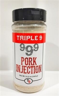 Triple 9 Pork Injection & Marinade, 12.3oz