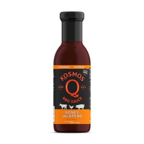 Kosmos Honey Jalapeño BBQ Sauce