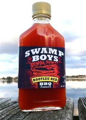 Swamp Boys Bootleg Red Vinegar BBQ Sauce - 7oz Flask
