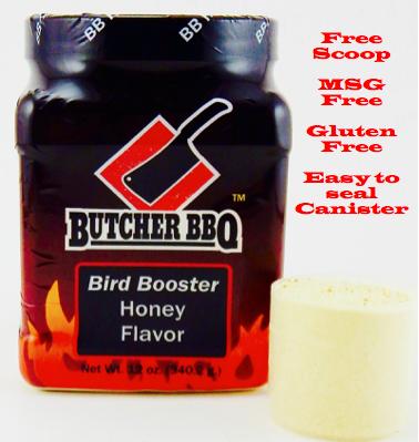 Butcher BBQ Bird Booster Honey