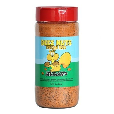 Meat Church Deez Nuts Honey Pecan BBQ Rub