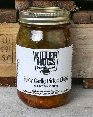 Killer Hogs Spicy Garlic Pickles *SPICY*