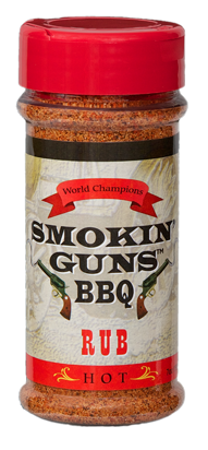 Smokin' Guns 7 oz. Hot Rub