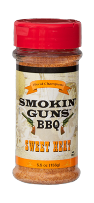 Smokin' Guns 7 oz. Sweet Heat Rub