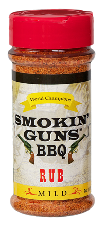Smokin' Guns 7 oz. Mild Rub