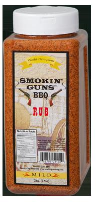 Smokin' Guns 2lbs Mild Rub