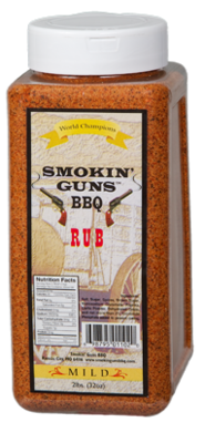 Smokin' Guns 2lbs Mild Rub