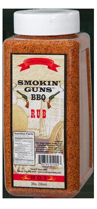 Smokin' Guns 2lbs Hot Rub