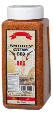 Smokin' Guns 2lbs Hot Rub