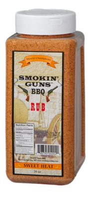 Smokin' Guns 2 lb. Sweet Heat Rub