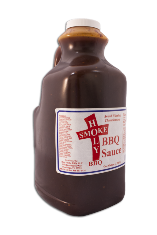 Holy Smokes-BBQ Sauce-1 gallon