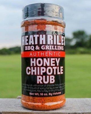 Heath Riles-BBQ Honey Chipotle Rub-16oz