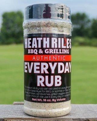 Heath Riles-BBQ Everyday Rub-16oz